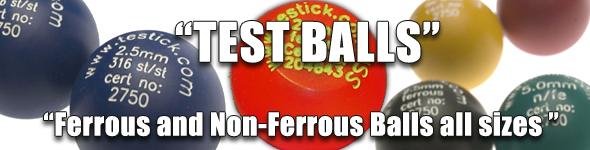 Test Stick, Test Balls